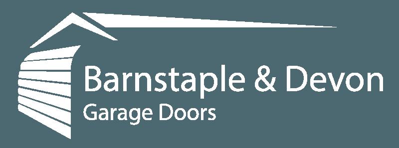Barnstaple & Devon Garage Doors logo white
